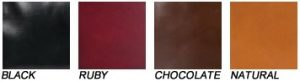 colours calf black ruby chocolate natural borse bag Saddlers Union