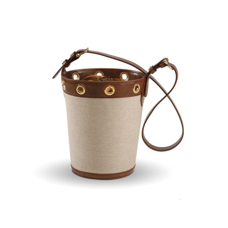 W01 - Large bucket bag in canvas
