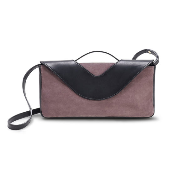 W27 - Envelope bag in suede