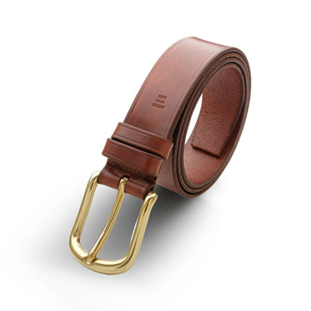 A04 - Belt in calf with classic buckle