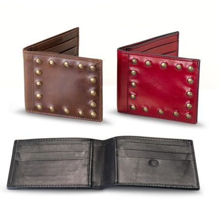 A09/C - studded small wallet