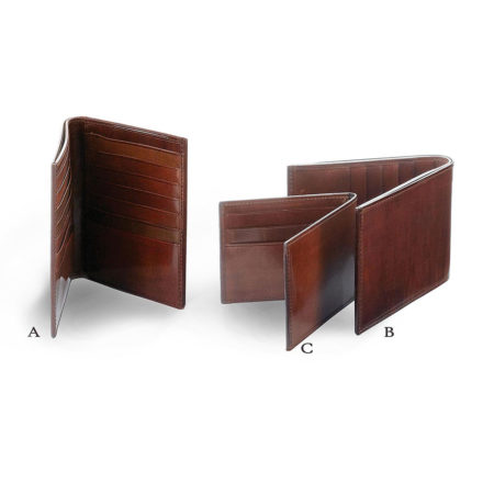A09 A/B/C - small, medium, large wallets