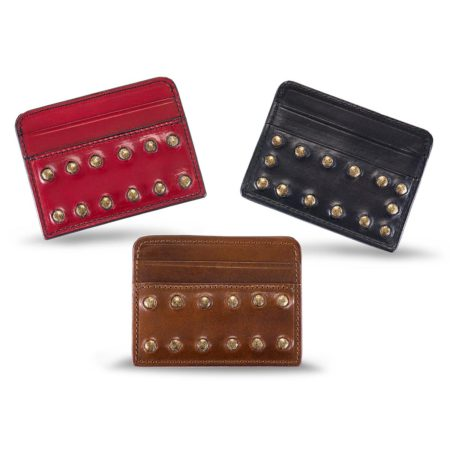 A09/F - Small studded card holder
