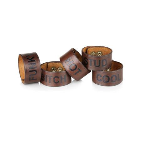 A15/B - Leather bracelet