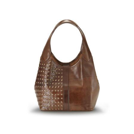 W09 Luly bag in calf half studded