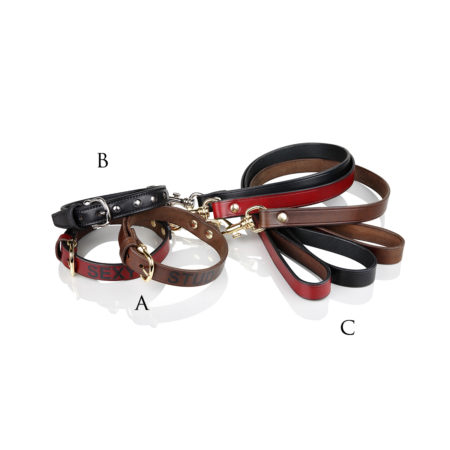 A26/B - Studded collar for dogs