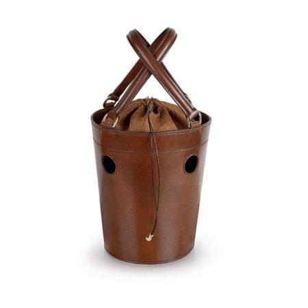 W02 - Medium bucket bag with holes