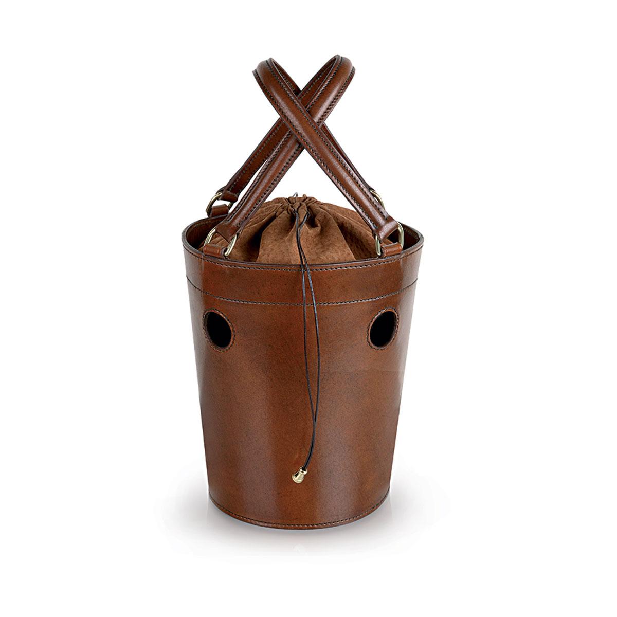 W02 Medium Bucket Bag With Holes