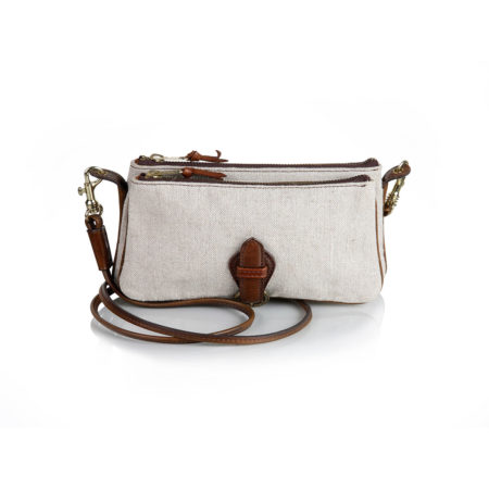 W25 - Double pochette in canvas