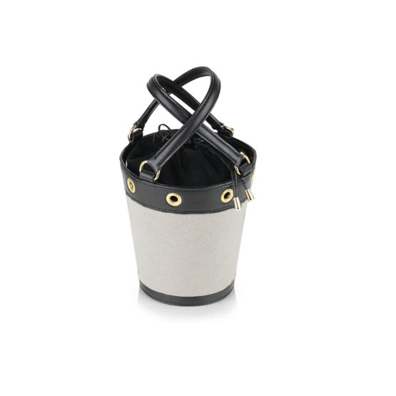 W01 - Small bucket bag in canvas