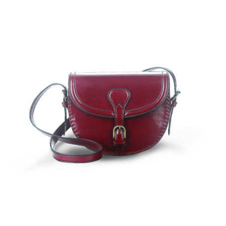 W22 - Medium round satchel